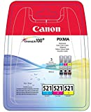 Canon 1700288 –Tintenpatrone für Drucker (Cyan, Magenta, Gelb, Pixma MP560, Tintenstrahl, 15–90%,-20–60°C, 5–35°C) Wenn