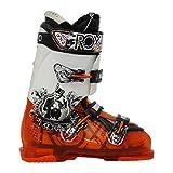 ROXA Evo 9 orange weiß gebrauchter Skischuh
