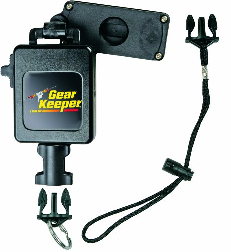 Gear Keeper RT3-7626 Retractable Instrument Tether with Clamp On Multi-Mount Belt Clip, 80 lbs Breaking Strength, 26 oz Force, 28 Extension by Gear Keeper (Belt Mount)