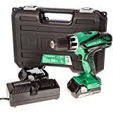 Hitachi DV18DGL/JF 18V Li-ion Cordless Combi Drill with 2 x 2.5Ah Batteries
