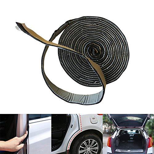 TEEPAO Butyl-Dichtungsband, wasserdicht, Butylkautschuk, Wetterabisolierung, für Wohnmobile, Auto/Tür/Fenster, hohe Elastizität, stoßdämpfender Klebstoff - 2 mm x 2 cm x 3 m