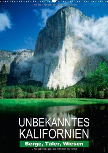 n - Unbekanntes Kalifornien (Wandkalender 2014 DIN A2 hoch): Landschaftsaufnahmen aus dem Golden State (Monatskalender, 14 Seiten) ()