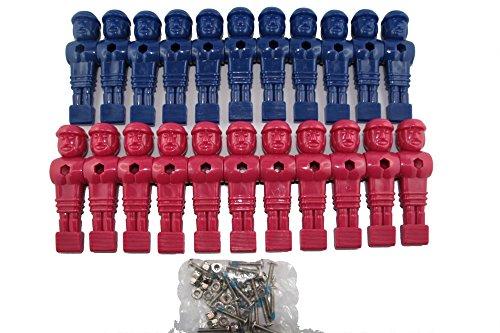 Preisvergleich Produktbild Kickerfiguren Mastercup 22 Stück B-Ware komplett mit Schrauben und Muttern