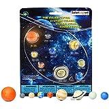 Safari Wissenschaft Ltd. Lernspielzeug: Unser Planetensystem- 8 Handbemalte Planetfiguren und die Sonne dazu!