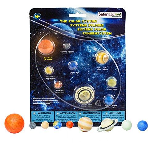 Preisvergleich Produktbild Safari Wissenschaft Ltd. Lernspielzeug: Unser Planetensystem- 8 Handbemalte Planetfiguren und die Sonne dazu!