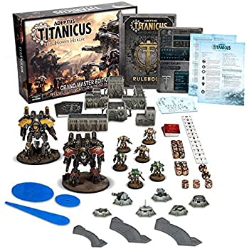 Games Workshop - Warhammer 40,000 Universe - Adeptus Titanicus: Grand  Master Edition