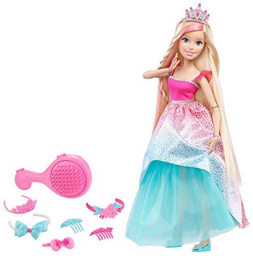 Mattel Barbie DKR09 - Große Zauberhaar Prinzessin Blond