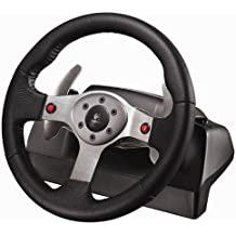 Logitech G25 - Volante/mando (Ruedas + Pedales, Alámbrico, PC, Playstation 2, Playstation 3, CD-ROM, Windows XP/Vista)