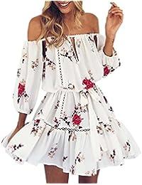 Vestido de mujer, SHOBDW Las mujeres de verano boho maxi largo vestido de noche vestido