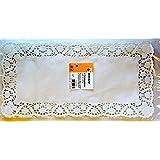 HEKU Tortenspitzen 12 Stück weiß rechteckig 20x40cm