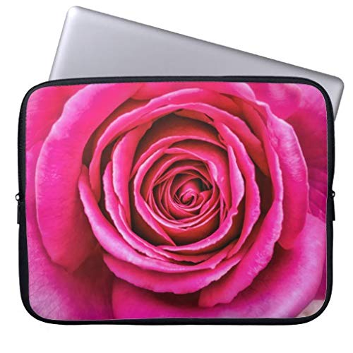 qidushop Hot Pink Rose Laptop Case for 11.6 12 Inch Samsung Ultrabook ASUS Fujitsu Lenovo HP Sony Powerbook