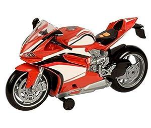 CYP- Moto Roja con Luz y Sonidos Teamsterz Motocicletas (1)
