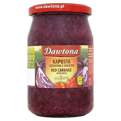 Dawtona chou rouge aux pommes - Kapusta Czerwona z Jablkiem (680g) - Paquet de 6