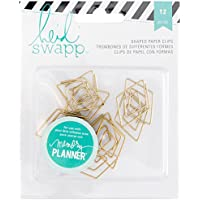 American Crafts Heidi Swapp 10268595Schablone Zum Memory Planer Papier Clips 1, Acryl, Mehrfarbig