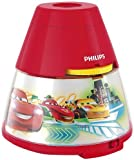 Philips Disney Cars Children's Night Light and Projector - 1 x 0.1 W Integrated LED