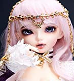 W&Y BJD Doll Size 1/4 16 Pollici 41CM 19-Jointed Body Cosplay Fashion Doll con Tutti i Vestiti Shoes Parrucca Completo Regalo degli Amanti
