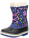 Sorel Jugend Unisex Yoot Pac Nylon Shell Boot, 37 EUR, Aviation/Foxglove
