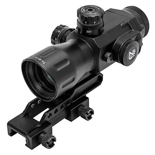 UTG Sporting Type T4 Series 4X32 Prismatic Scope-Mil-Dot Zielfernrohr, schwarz, OneSize -