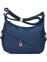 Bagtopia Women'S Casual Small Hobo Shoulder Bags Water-Resistant Pu Leather Cross-Body Purses For Ladies(Blue 2)