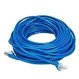 #9: Terabyte CAT5E RJ45 Ethernet Lan Cable Patch Cord CAT 5E 15M 45 ft - Blue Color