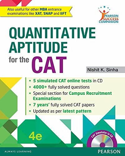Quantitative Aptitude for the CAT