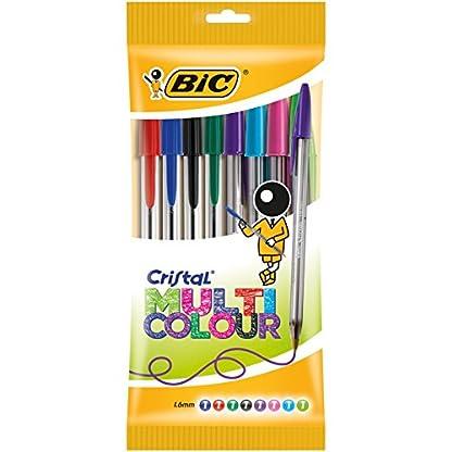 BIC Cristal Multicolor – Caja de bolígrafos