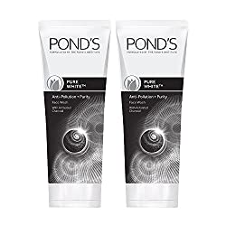 Ponds Pure White Deep Cleansing Facial Foam, 100g (Pack of 2)