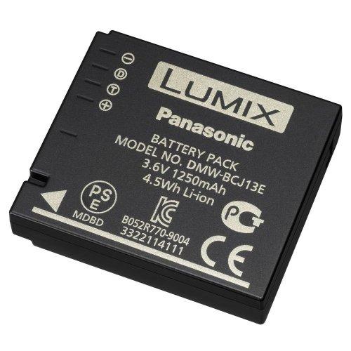 Panasonic LUMIX DMW-BCJ13E Li-Ion Akku (geeignet für LUMIX Digitalkameras) schwarz (Panasonic Lumix Lx7 Kamera)