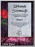 Pegasus-Stars Sterntaufe zum Valentinstag Taufen Sie einen echten Stern - die individuelle Geschenkidee mit Widmungs-Zertifikat