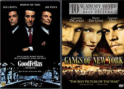 Scorsese's Beautiful Violence: Goodfellas + Gangs Of New York Classic American Time Pieces