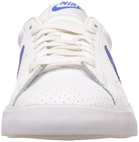 Nike Classic Ac, Chaussures de Tennis Homme, Bianco, 40 EU Multicolore (Blanco / Azul (White / Racer Blue-Loyal Blue))