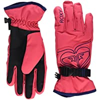 Roxy Popi - Guantes nieve para niña, color rosa, talla L