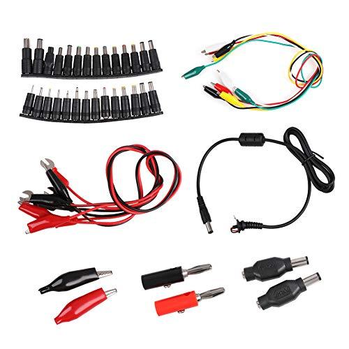 Dreamitpossible Elektrische DIY Test Kabel Doppelende Clips Roach Clip Adapter Test Jumper Wire für Laptop Notebook