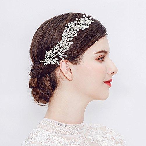 251116 Romantische Blume Stirnbänder Elfenbein Hochzeit Haarbänder Schmuck -