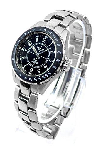 uhr 4397 Marken Uhr Omax Herren Armband Uhren Tachy Black DBA275