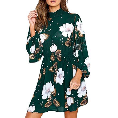 Barockleid Damen Wanyang Kleider Langes Kleid More&More Kleider Damen SAMT Kleid Chiffon Kleider...