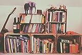Regal aus geflammter Obstkiste als Schuh- oder Bücherregal von Kistenbaron® - 5