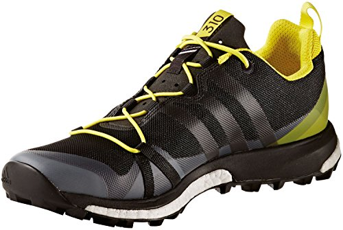 adidas Herren Trekkingschuhe Terrex Agravic dark grey/core black/bright yellow 40