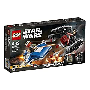 Lego Star Wars 75196 - TM - A-Wing Contro Microfighter Tie Silencer