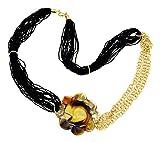 ZECCHIN Venezia FLAVIA Collier Halskette Muranoglas Venedig Murano Chalzedon Handarbeit Made in Italy