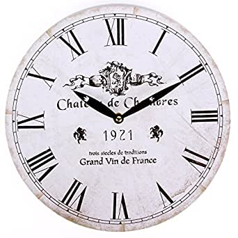 a little more horloge murale chateau de chambres v tements et accessoires. Black Bedroom Furniture Sets. Home Design Ideas