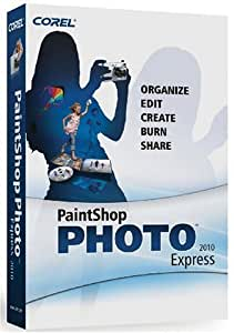 Corel PaintShop Photo Express 2010 (PC CD)