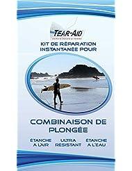 Kit de réparation instantanée pour combinaisons de plongée, voiles, caissons de kitesurf, etc.
