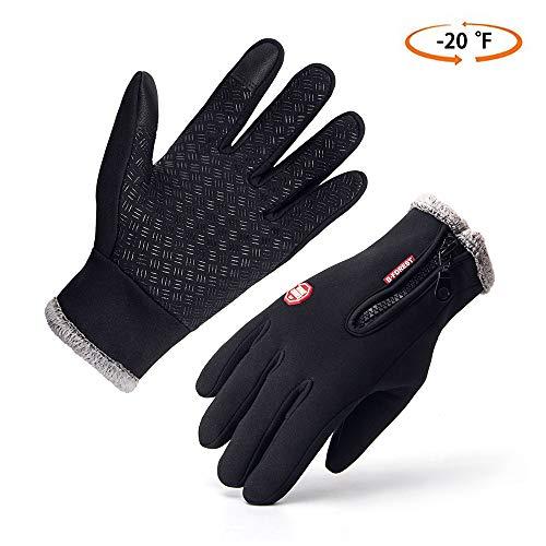 Opard Touchscreen Handschuhe Fahrrad Handschuhe Outdoor Sport Winterhandschuhe, Radsport Handschuhe, Warme Winddicht Rutschfestes Geeignet für Winter Herbst Frühling