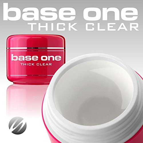 base-one-thick-clear-15g-uv-gel-nails-acid-free-builder-file-off-gel-silcare