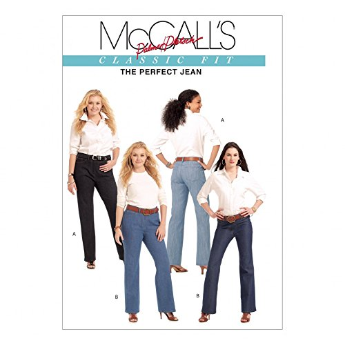 McCall 's Schnittmuster 5894Damen Plus Größe Hose Übergröße: (Muster Größe Plus Nähen)