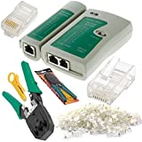 4 St¨¹ck Netzwerk-Kabeltester Detector Crimpzange Sets RJ45-Stecker Stecker-Netz-Abisolierzange Regard