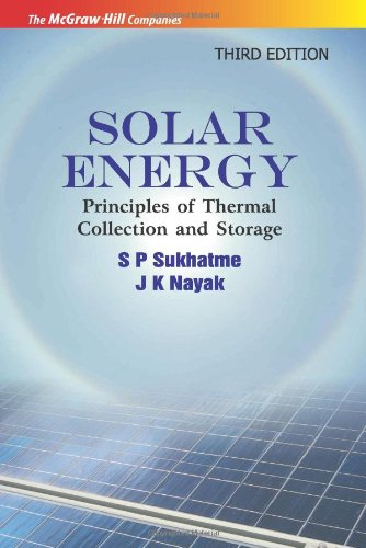 Solar Energy Principles Of Thermal Collection And Storage Pdf