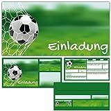 Fussball Geburtstagskarte Std