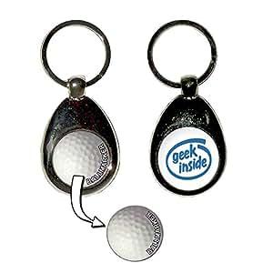 Geek Inside - Une balle de golf porte-clés marqueur